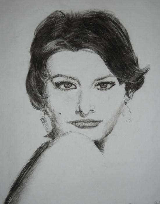 Sophia Loren by biaky10